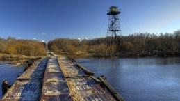 Kasari jõgi, Kloostri vaatlustorn