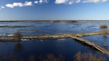 Kasari jõgi, Kloostri vaatlustorni juures
