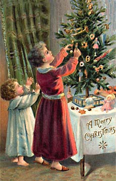 Sending Holiday Greetings Victorian Style