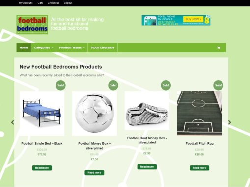Football Bedrooms