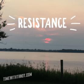 #Inspiration, #resistance, potential, mindset