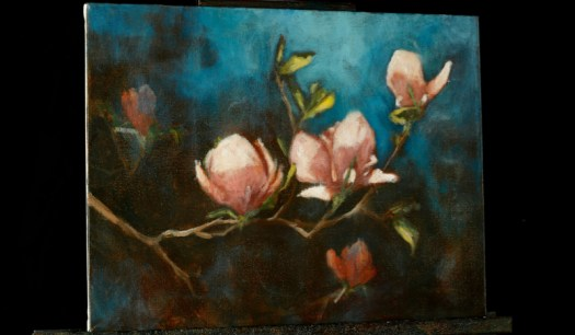 Impressionist Magnolias An Online Acrylic Painting Lesson