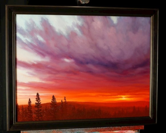 Sunset In Oil – An Online Oil Painting Lesson | Tim Gagnon ...