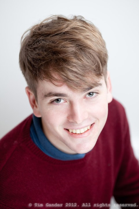 Acting college student Tom England of Frome