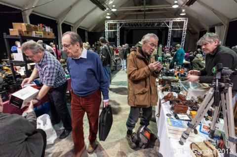 Camera fair at The Cheese and Grain, Frome