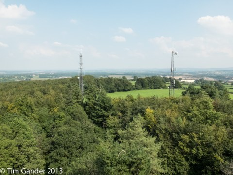 View from the top of Cranmore Tower