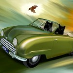 Moment In Time (Saab 92, 1950)