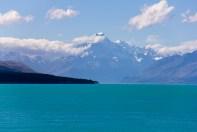 Lake Pukaki et Mount Cook