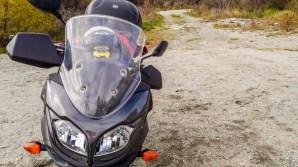 Bob en moto