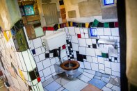Hundertwasser's toilets