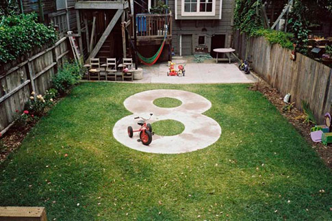 Backyard 8-track