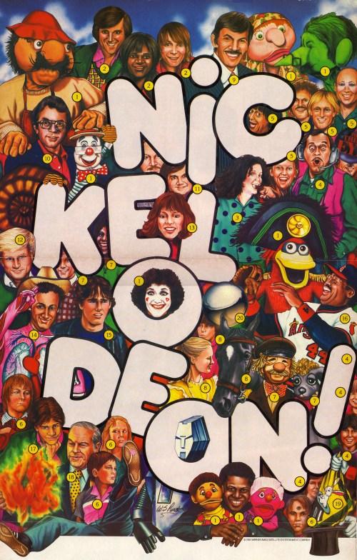 Nick 1980s poster