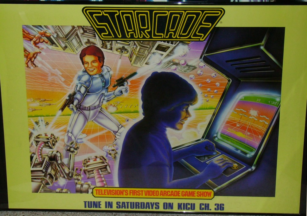 Starcade Poster