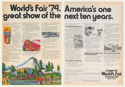 Expo '74 Magazine Ad