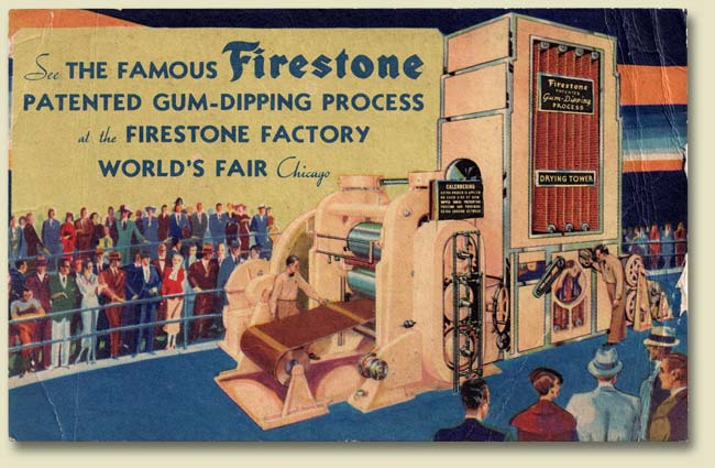 Firestone Postcard