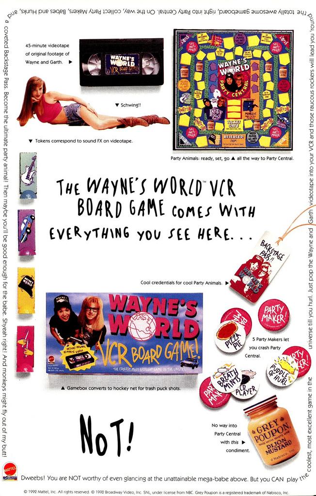 Wayne's World includes