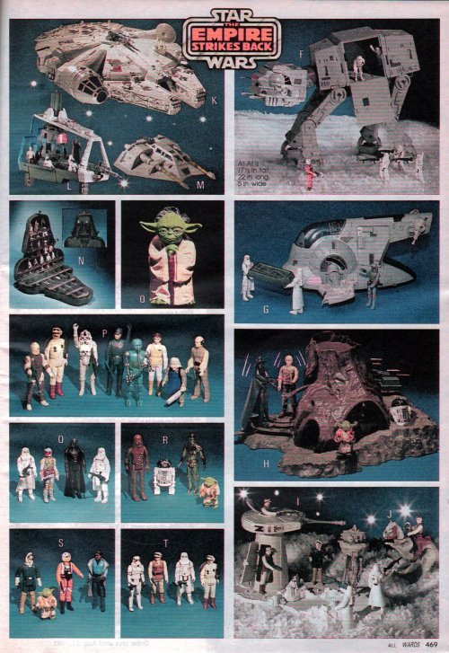 Empire Strikes Back toys