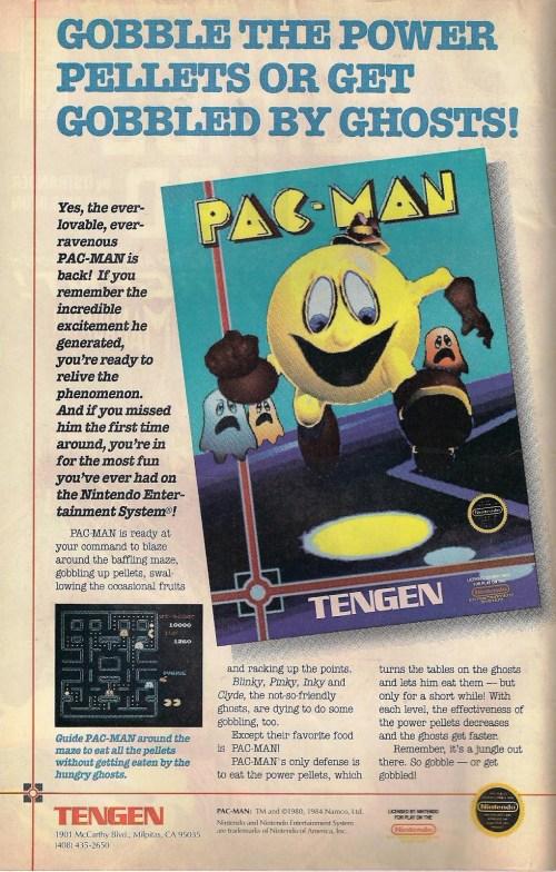 Tengen Pac Man