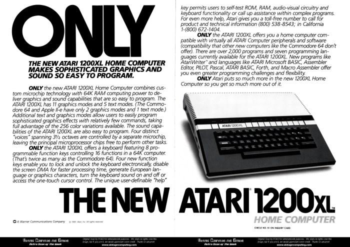 Atari 1200 Ad