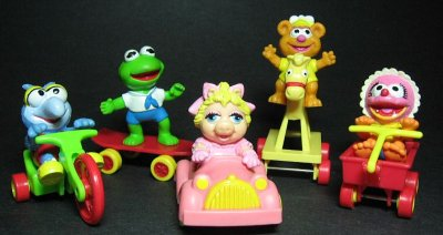 1987 Muppet Babies Toys