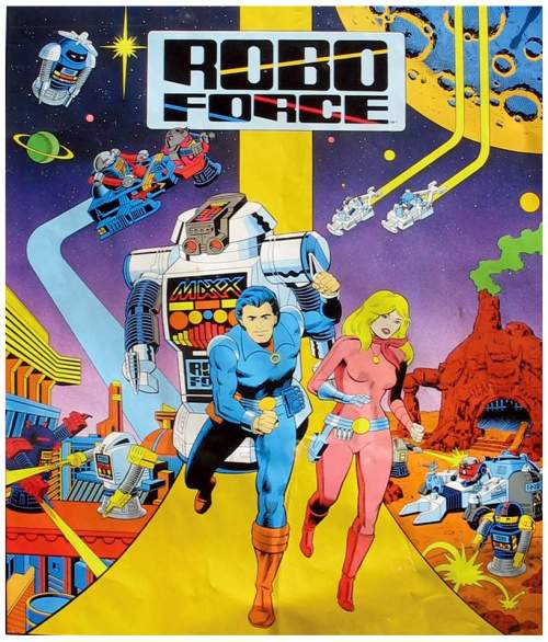 Robo Force Comic
