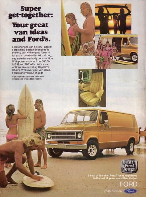 1970s Van Ad