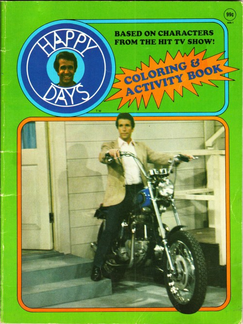 Happy Days Coloring Book