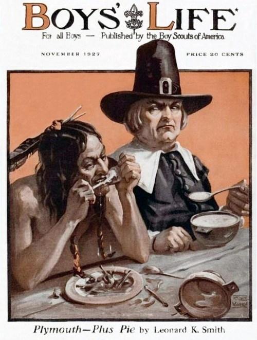 Boys Life Thanksgiving