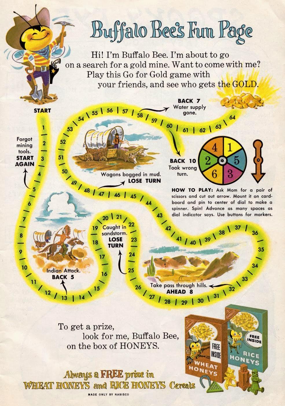 Buffalo Bee Fun Page
