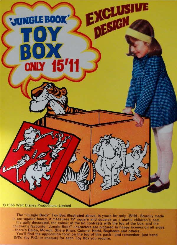 Jungle Book Toy Box