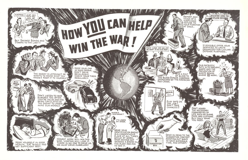 How You Can Help Win The War