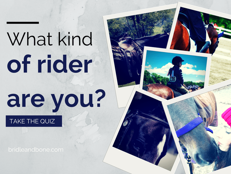 Quiz: What kind of horse rider are you?