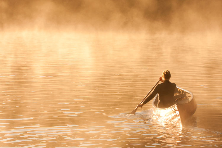 Morning light - Coulonge River, Quebec