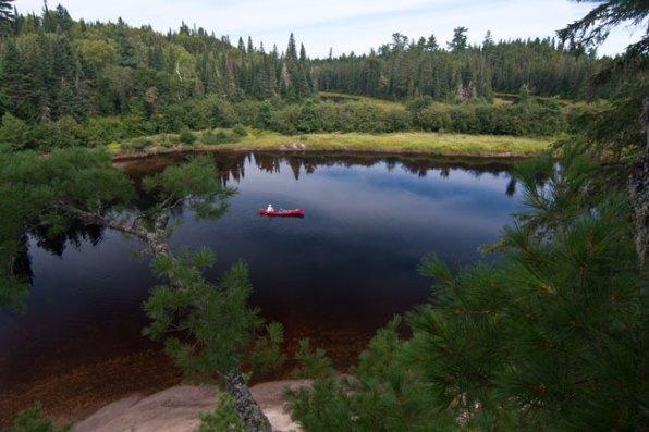 Quebec wilderness canoeing