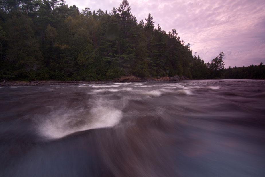 Coulonge River rapids, near Réserve faunique La Vérendrye, Quebec