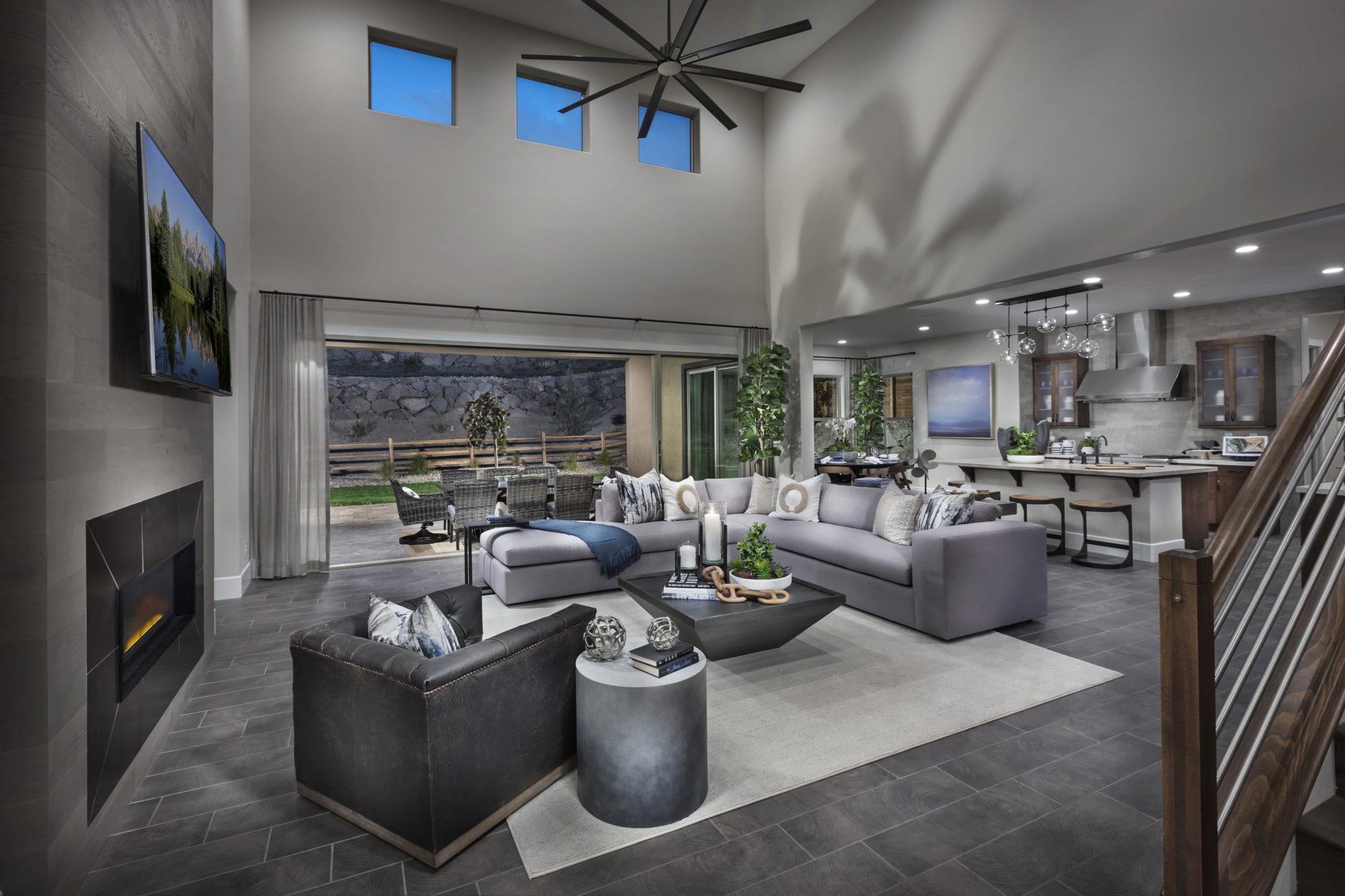Plan Four Whispering Canyon New Homes In Reno NV
