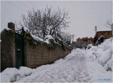Ighil Bougueni - Neige au village 2011 (6) - Salem Mezaib