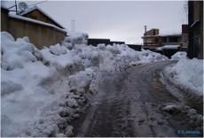 Ighil Bougueni - Neige au village en 2011 - Salem Mezaib