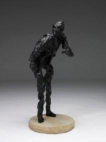 "Stargazer | 2004 | bronze | 42"" | alt ""Colorado. Roughneck. Oil Rig. 1936. Dorvin Cornell. Big Boy."""