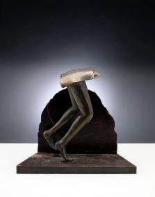 "Arizona Legs | 1974 | Bronze  | 6"" x 9"" x 5"""