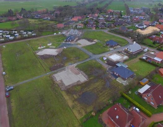 Luftbild: Baugebiet Alter Sportplatz in Timmel