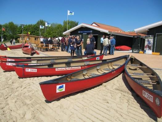 Paddel- und Pedal-Station am Timmeler Meer