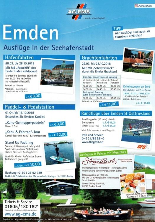 Ausflüge Seehafenstadt Emden
