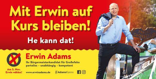 Bürgermeisterwahl in Großefehn