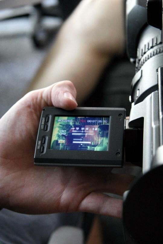 Videoaufnahmen für Einspieler