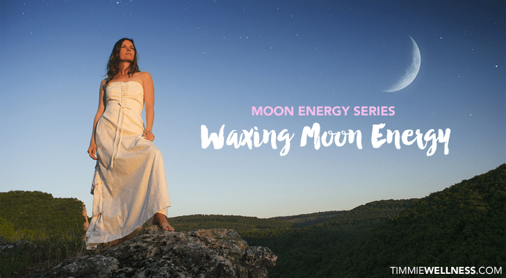 Waxing Moon Energy by Timmie Horvath Policarpio Wanechko Edmonton Reiki Training Crystal Healing Aromatherapy Essential Oils