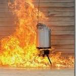 How to burn down your house while frying a turkey