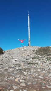 The iron cross – highest point on the Camino