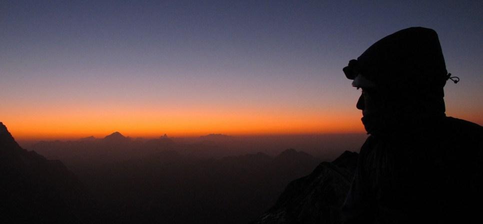 Peuterey Integral, Mt Blanc (2)
