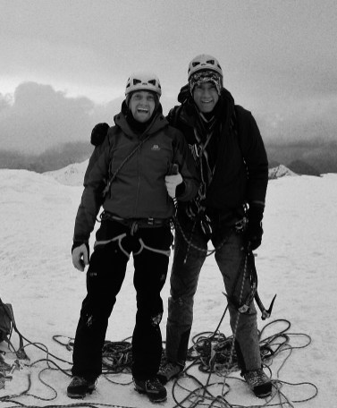 Keith and me....Summiting on the Ben again!
